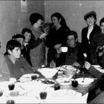 Cesario. Moncho. Teolindo. Tin. Clara. Maria. Isidoro.Delia. Sidorio. Xe. Isaura. año 1969. ¡Foto cedida por Delia!.